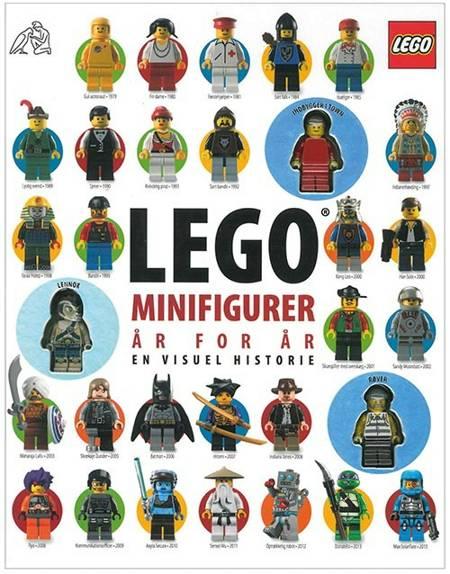 LEGO minifigurer af Daniel Lipkowitz og Gregory Farshtey