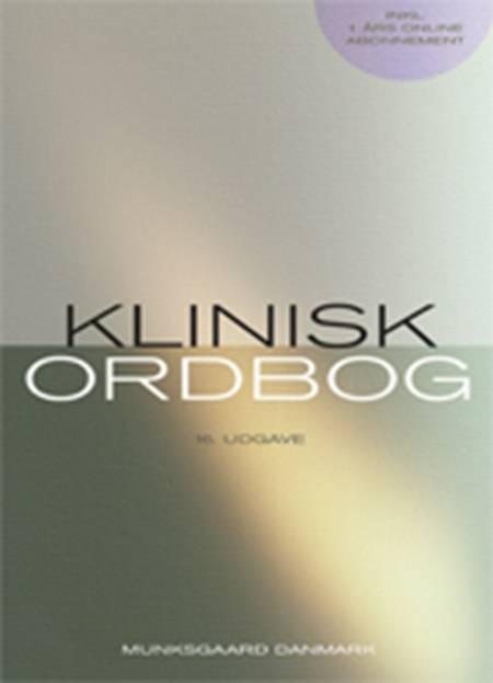 Klinisk ordbog af Allan Krasnik, Asger Dirksen og Aksel Bertelsen m.fl.
