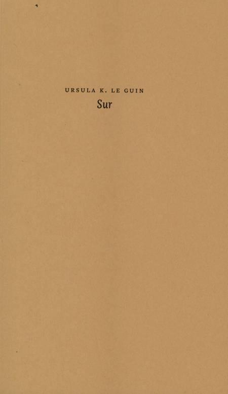 Sur af Ursula K. Le Guin