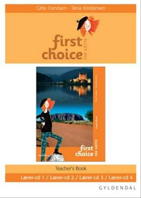 First Choice for 6. klasse - lærer-CD af Gitte Frandsen og Tania Kristiansen