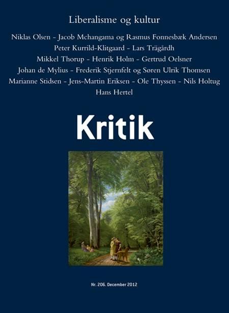 Kritik, 45. årgang, nr. 206 af Lasse Horne Kjældgaard og Frederik Stjernfelt