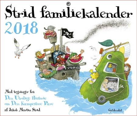 Strid Familiekalender 2018 af Jakob Martin Strid