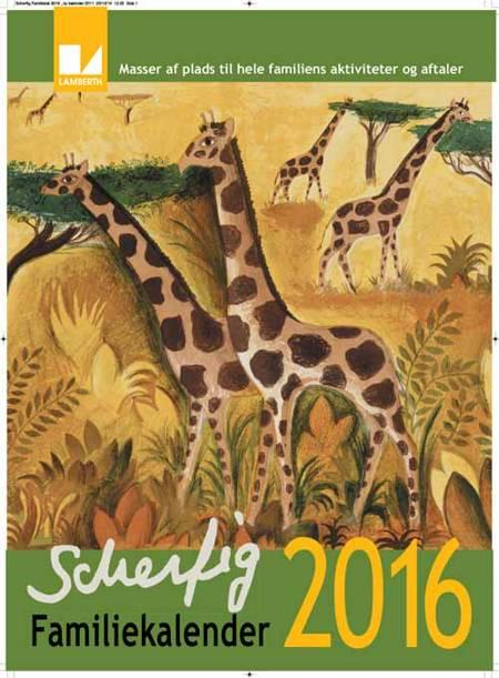 Hans Scherfig Familiekalender 2016