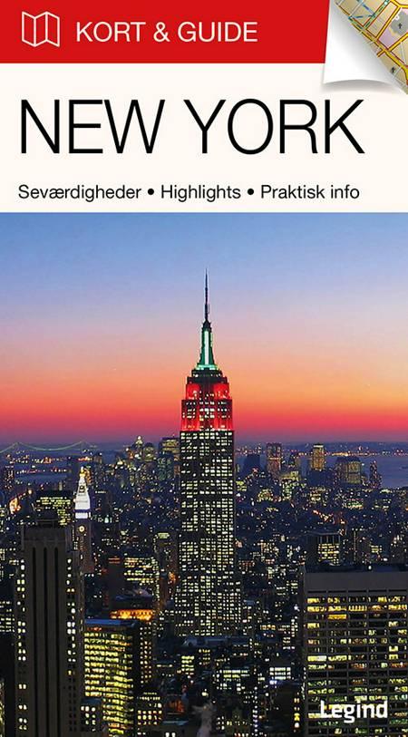 Kort & Guide - New York af Eva Tangø-Brandt