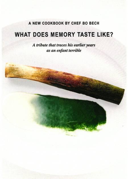 What does memory taste like ? af Bo Bech