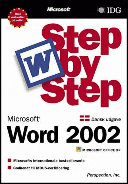 Word 2002 Step by Step af Inc. og Online Training Solutions