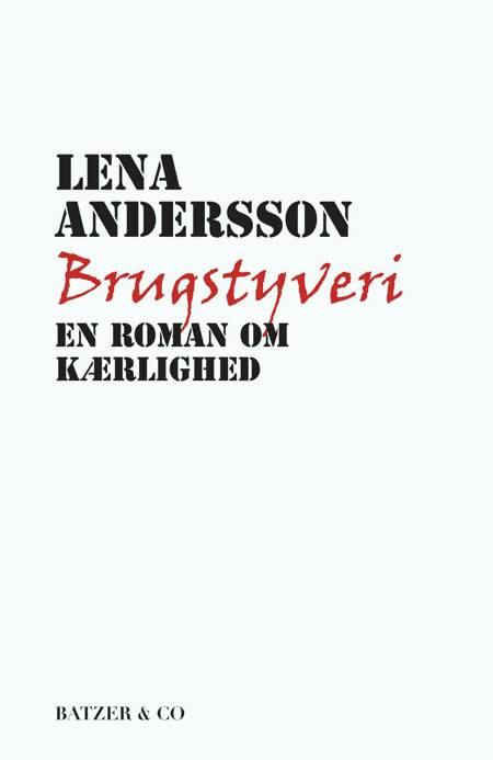 Brugstyveri af Lena Andersson