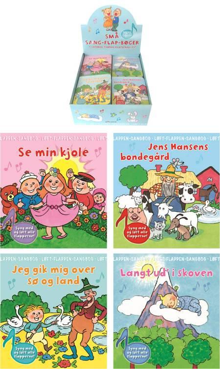 Sang-flap-bøger 1-4