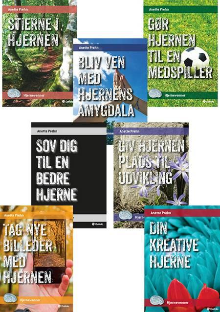 Serie med syv minibøger - Hjernevenner af Anette Prehn