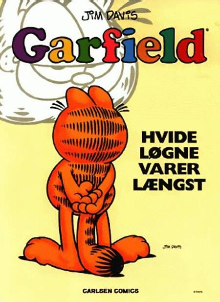 Garfield - hvide løgne varer længst af Jim Davis