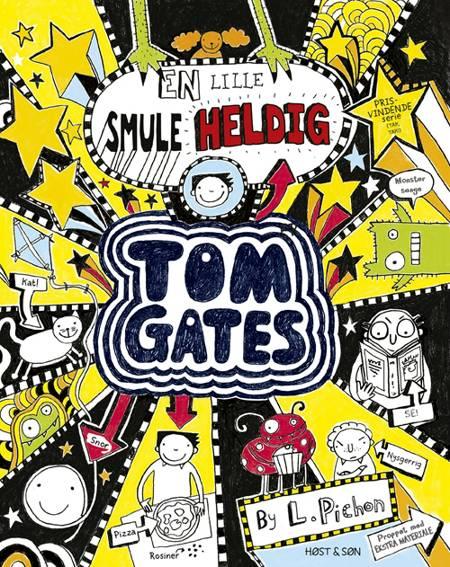Tom Gates 7 - En lille smule heldig af Liz Pichon