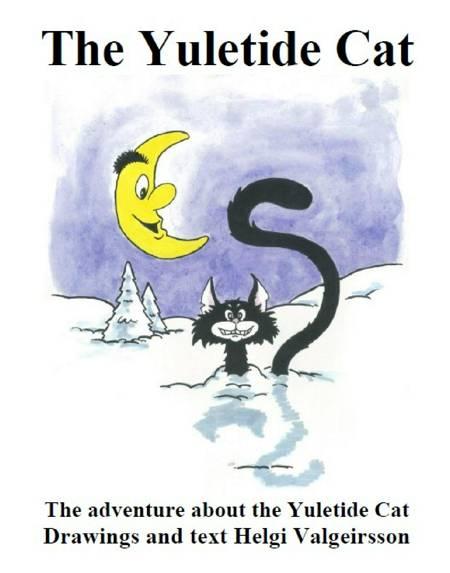 The Yuletide Cat af Helgi Valgeirsson