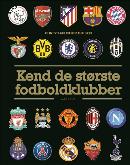 Kend de største fodboldklubber af Christian Mohr Boisen