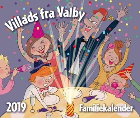 Villads fra Valby familiekalender 2019 af Anne Sofie Hammer