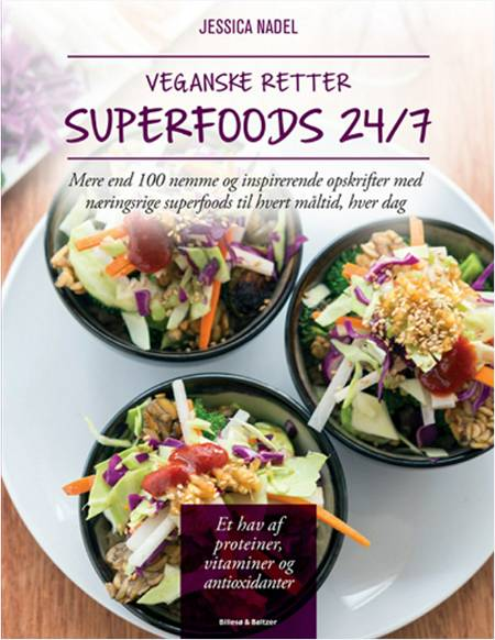 Veganske retter - Superfoods 24/7 af Jessica Nadel