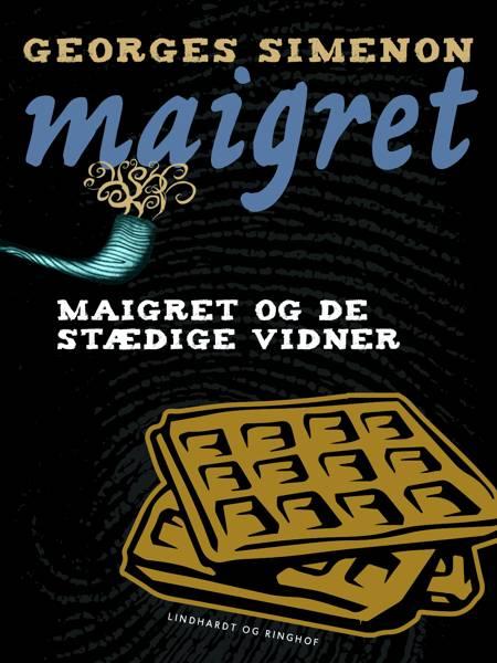 Maigret og de stædige vidner af Georges Simenon