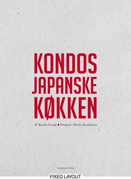 Kondos japanske køkken af Kondo Sasaki