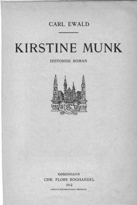 Kirstine Munk af Carl Ewald