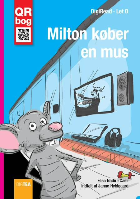 Milton køber en mus af Elisa Nadire Caeli