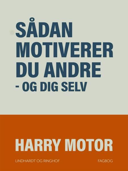 Sådan motiverer du andre - og dig selv af Harry Motor