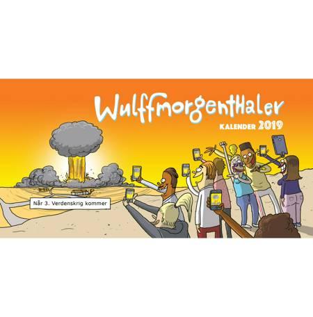 Wulffmorgenthaler kalender 2019 af Anders Morgenthaler og Mikael Wulff