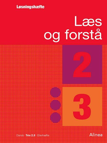 Læs og forstå, Løsningshæfte 2, 3 af Anton Nielsen og Lavra Enevoldsen