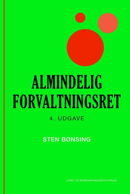 Almindelig forvaltningsret af Sten Bønsing og Bønsing S