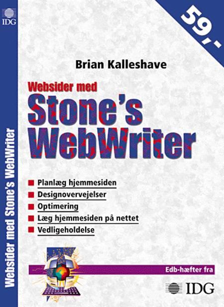 Websider med Stone's WebWriter af Brian Kalleshave
