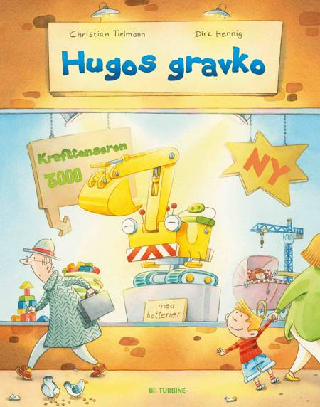 Hugos gravko af Christian Tielmann