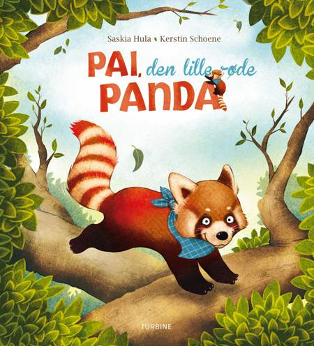 Pai, den lille røde panda af Saskia Hula