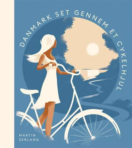 Danmark set gennem et cykelhjul af Martin Zerlang