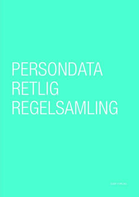 Persondataretlig regelsamling af Peter Blume