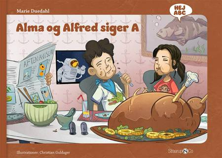 Alma og Alfred siger A af Marie Duedahl