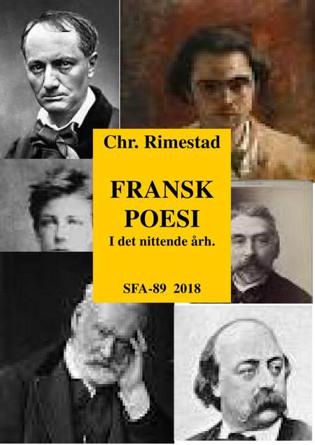 Fransk poesi i det nittende århundrede af Chr. Rimestad