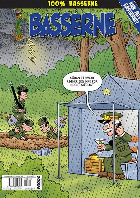 Basserne: Sådan et uvejr regner jeg ikke for noget særligt! af Mort Walker