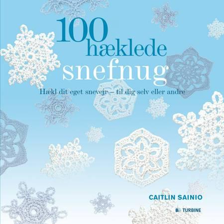 100 hæklede snefnug af Caitlin Sainio
