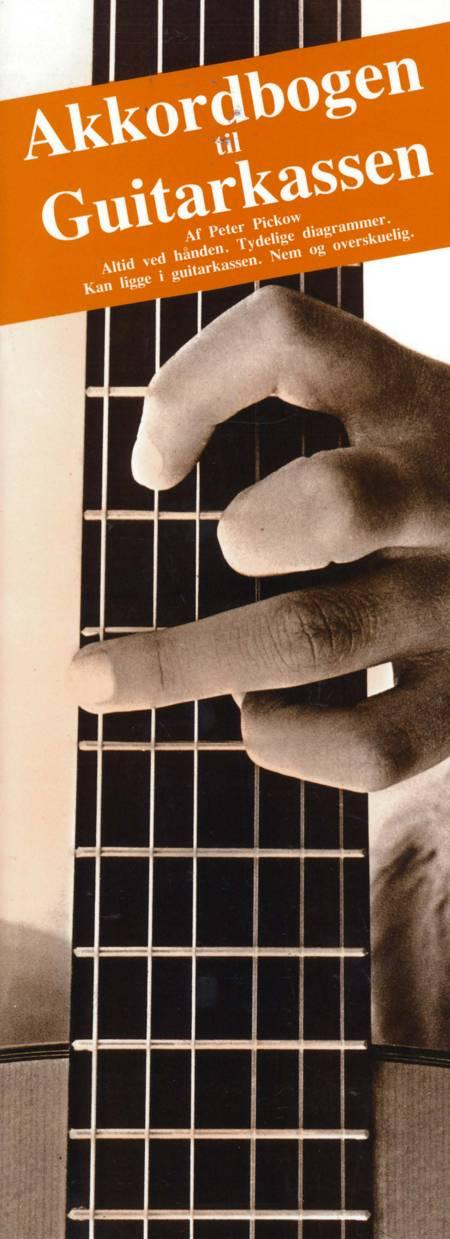 Akkordbogen til guitarkassen af Peter Pickow