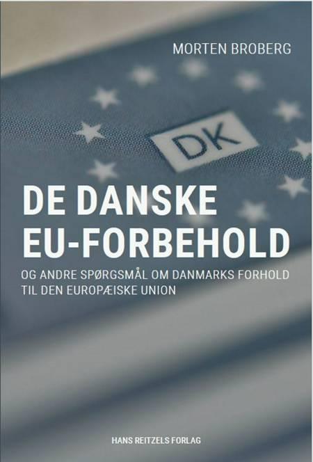 De danske EU-forbehold af Morten Broberg