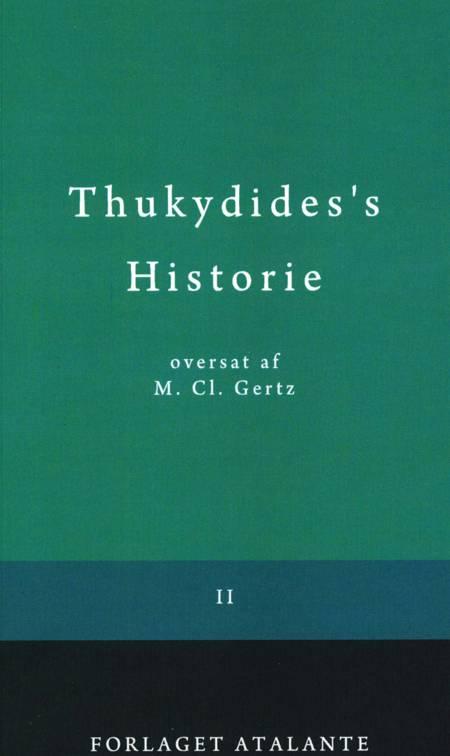 Thukydides's Historie II af Thukydid