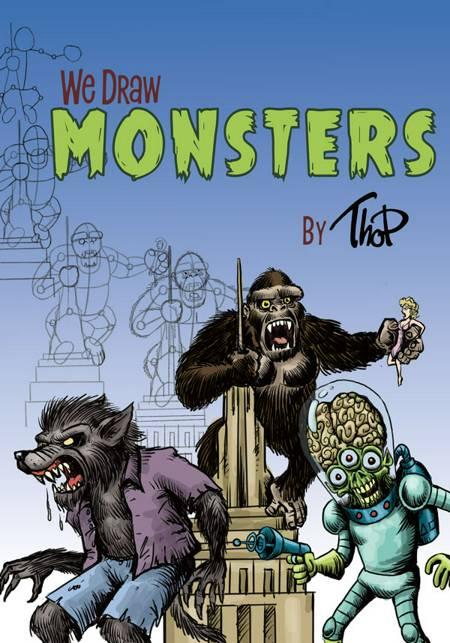 We Draw #1: We Draw Monsters af Thomas Friis Pedersen