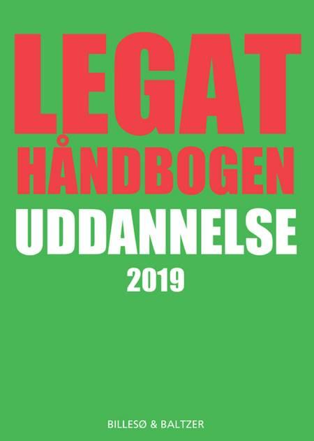 Legathåndbogen uddannelse 2019 af Per Billesø og Berit Jylling m.fl.