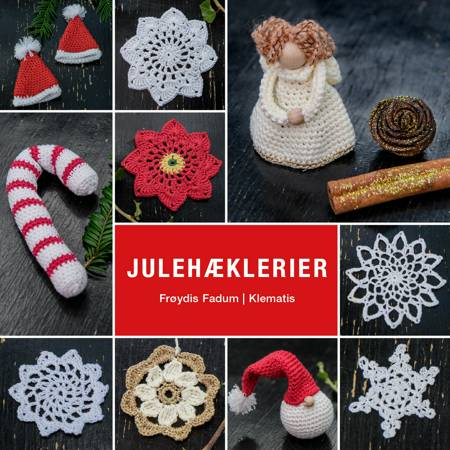 Julehæklerier af Frøydis Fadum
