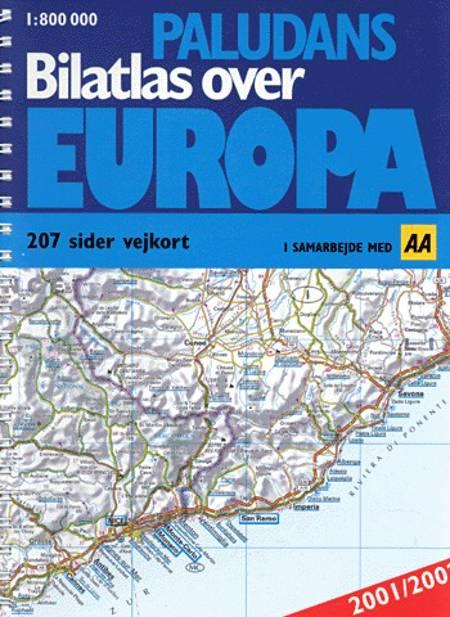 Paludans bilatlas over Europa ,2001-2002