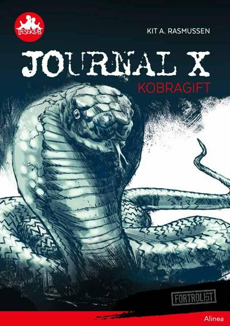 Journal X - Kobragift, Rød Læseklub af Kit A. Rasmussen