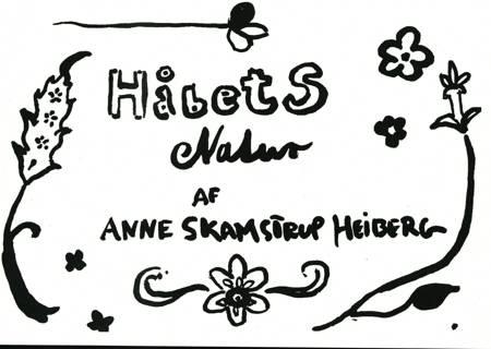 Håbets natur af Anne Skamstrup Heiberg