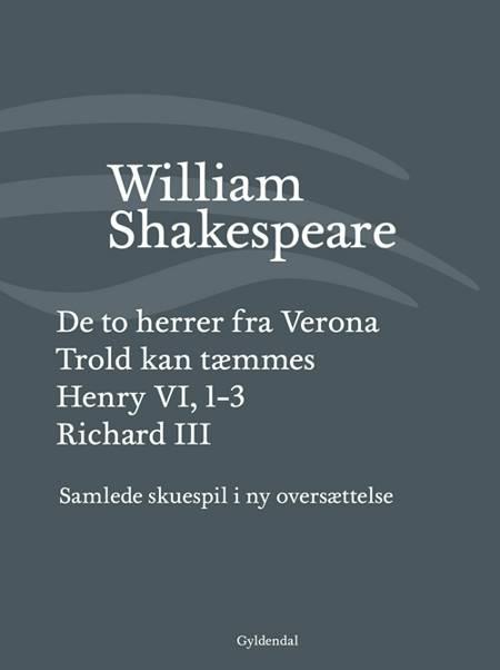 Samlede skuespil I af William Shakespeare