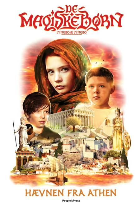 Hævnen fra Athen - De magiske børn 2 af Martin Lyngbo og Lasse Lyngbo