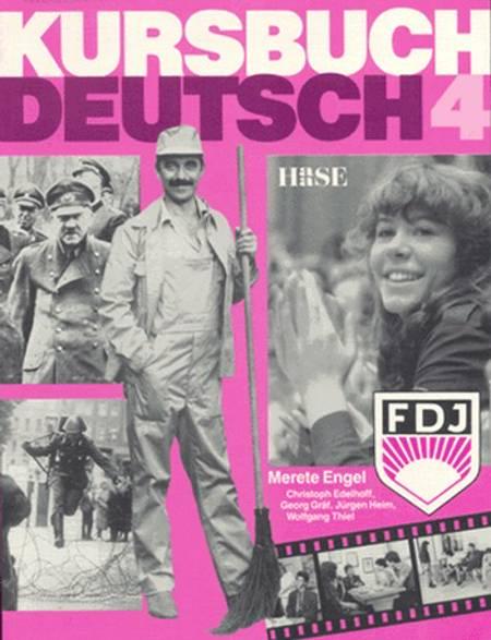 Kursbuch Deutsch 4. Elevens bog af Merete Engel