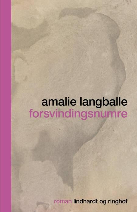 forsvindingsnumre af Amalie Langballe