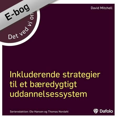 DVVO inkluderende strategier af David Mitchell